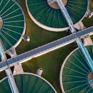 Estação de tratamento de água por flotação