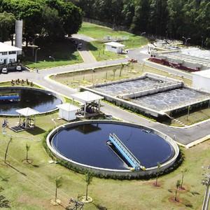 Estação de flotação
