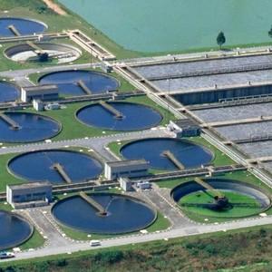 Estação de tratamento da água