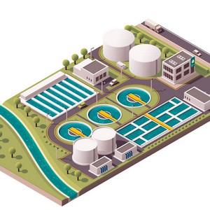 Tratamento de água de chiller industrial