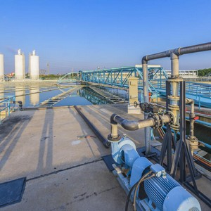 Decantação tratamento de água