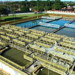 Estação de tratamento de água potável