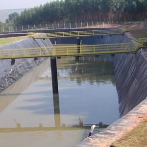 Estação de tratamento de afluentes