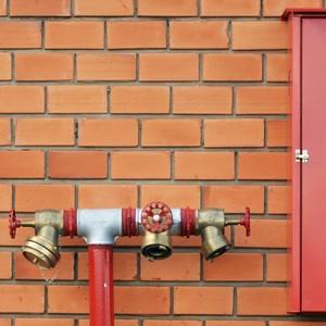 Sistema de combate a incêndio hidrantes