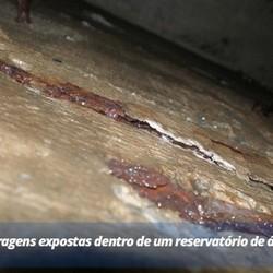 Impermeabilização em Caixa de Ferro