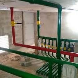 Instalação de barriletes em prédios