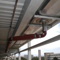 Serviço de instalação de prumada de colunas