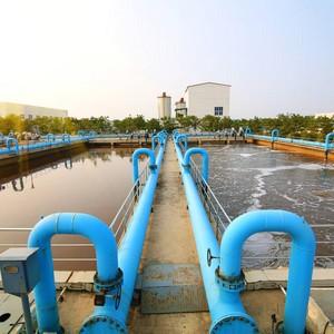 Estação de tratamento água e esgoto